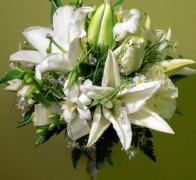 Букет невесты из лилий №1