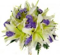 Букет невесты из лилий №2
