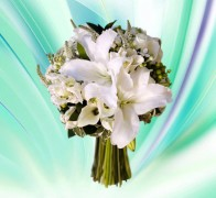 Букет невесты из лилий №4