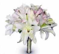 Букет невесты из лилий №5