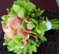 Букет невесты из орхидей №10
