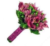 Букет невесты из орхидей №16