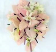Букет невесты из орхидей №2