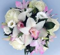 Букет невесты из орхидей №8