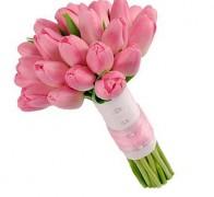 Букет невесты из тюльпанов №1