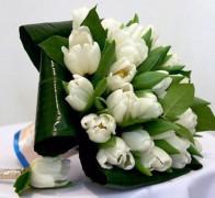 Букет невесты из тюльпанов №2