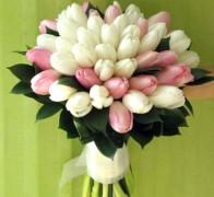 Букет невесты из тюльпанов №4